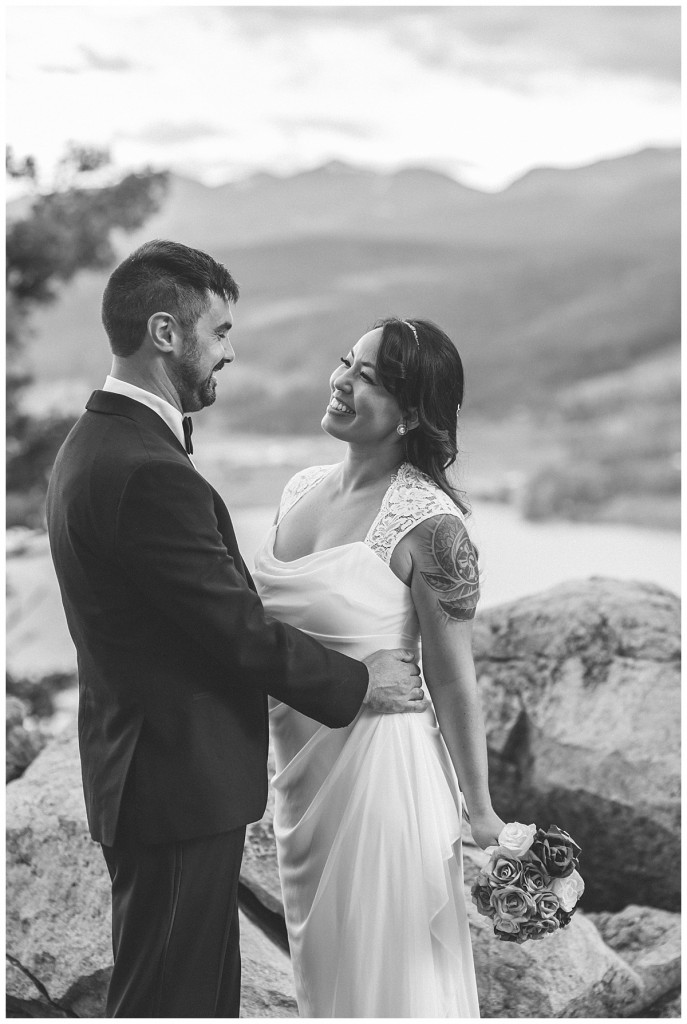 Sapphire Point Lake Dillon Frisco Coloraod Elopement Wedding